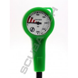 SCUBATECH Manometr S-Tech O2 300 bar